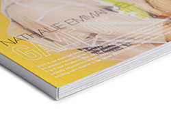 Glossy softcover books in the highest quality